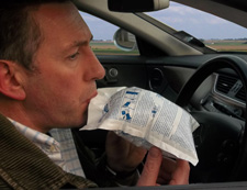 From 1st July 2012 all motorists in France will need to carry a breathalyser